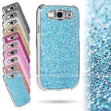 SPARKLE GLITTER DIAMOND BLING CHROME HARD CASE COVER FOR SAMSUNG GALAXY S3 LTE