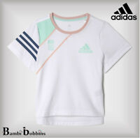 SALE - Adidas Girls T-Shirt Adi Cotton Tee 18-24 Months Age 2-3-4-5-6-7-8 Years