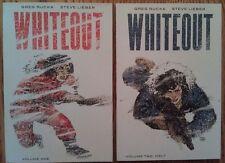 """Rucka & Lieber """"Whiteout"""" unread ONI Press Volumes 1 & 2 w/ Beckinsale movie"""