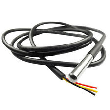 Waterproof Probe Steel Temperature Sensor Cable for Digital Thermometer Thermal