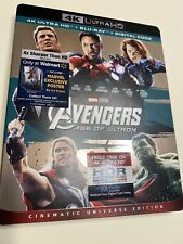 AVENGERS AGE OF ULTRON - 4K ULTRA HD/Blu-ray/digital, New With Rare Slipcover