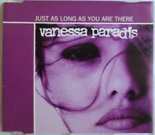 """VANESSA PARADIS - CD SINGLE U.K. """"JUST AS LONG AS YOU ARE THERE"""""""