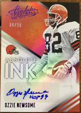 2014 Absolute Absolute Ink Spectrum Purple #26 Ozzie Newsome Auto /20