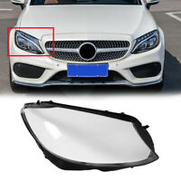 Right Side Headlight Cover Headlamp Lens Lenses For W205 C180 C200 C300 15 T05