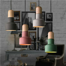 Modern Pendant Light Home Kitchen Chandelier Lighting Office Wood Ceiling Lights