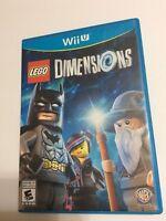 LEGO Dimensions Video  Game Nintendo Wii U