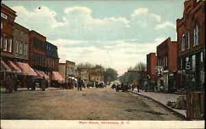 Henderson NC Main St. c1910 Postcard