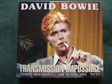 David Bowie - Transmission Impossible 3 CD Box Set.Excellent Condition.