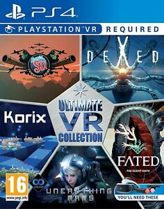 Ultimate VR Collection Playstation 4 PS4 5 Great Games on One - Brand New!
