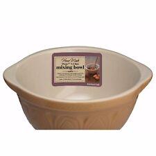 Traditional Mixing Bowl- Stoneware 21cm 1.5L- Preparing Serving Basin
