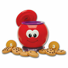 The Learning Journey Learn With Me Count & Learn Cookie Jar Kids New