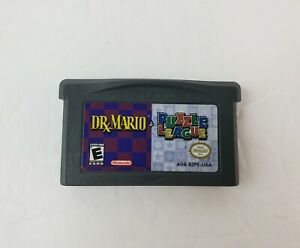 Dr. Mario & Puzzle League (Nintendo Game Boy Advance, 2005) - Tested & Working