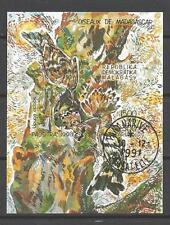 Oiseaux Madagascar (49) bloc oblitéré