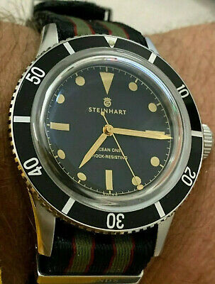 Steinhart Ocean One Legacy Limited Edition 199 Pieces 42mm Military Diver 300m