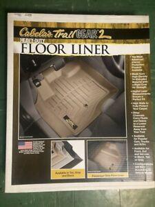 Cabelas WeatherTech Floor Liner - 2015 Chevy Colorado or GMC Canyon