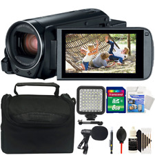Canon Vixia HF R800 1080p HD Video Camera Camcorder with Accessory Bundle