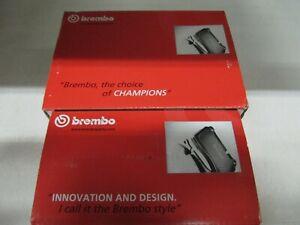 Brembo Bremsbeläge mit Warnkontakt BMW X3 und X4, F25/F26 - Satz vorne u. hinten