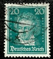 Germany: 1926 Famous Germans 20 Pfg . Rare & Collectible Stamp.