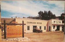 Montana Postcard VIRGINIA CITY Carriage House Historical Marker Pump Hse O'Brien