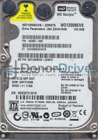 WD1200BEVS-22RST0, DCM HHYTJHNB, Western Digital 120GB SATA 2.5 Hard Drive