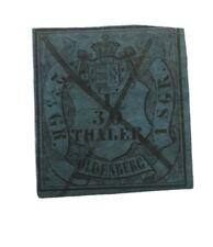 GERMANY 1852 OLDENBURG, Mi# 2, CV $40 , Used