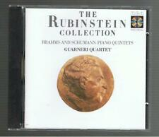THE RUBINSTEIN COLLECTION: BRAHMS & SCHUMANN PIANO QUINTETS CD