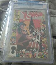 """Uncanny X-Men #211 (1986) CGC 9.6  White Pages  Claremont  """"Marauders"""""""