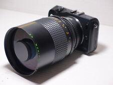 EOS M fit 500mm = 750mm ON CANON EOS M5 DIGITAL SLR MIRRORLESS CAMERA