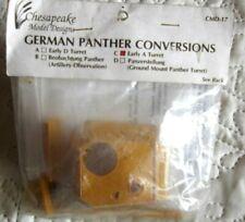 CMD/Eduard/Tamiya 1/35 WWII German Panther & PZIII Conversions