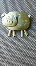 Vintage J.J.  Pig (Bronze color) Movable legs