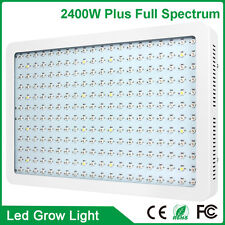 2400W Watt LED Grow light Full Spectrum lamp for plants Flower Hydroponics 110V