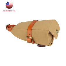 Tourbon Bicycle Saddle Bag Bike Storage Seat Bags Wedge Pocket Pouch for Outdoor
