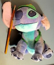 "8"" Disney Lilo and Stitch School Boy Alien Plush"