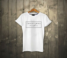 Twenty one pilots T shirt 100% cotton Music band T-shirt  UNISEX 21 Pilots Tee