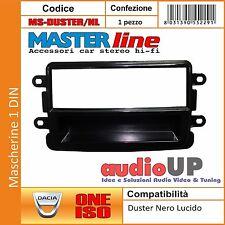 MASCHERINA MONTAGGIO AUTORADIO 1 DIN DACIA DUSTER DAL 2011> - COLORE NERO LUCIDO