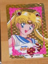 SAILORMOON R HERO COLLECTION DOUBLE PRISM CARDDASS CARD CARTE MADE JAPAN ** #1