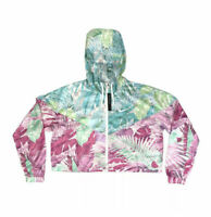Nike Sportswear Windrunner cropped floral tropical jacket CT6073-496 Multi Sizes