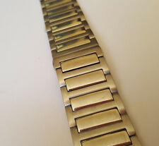 Metallgliederband Uhrenarmband  / 22 mm / Silberfarbend (R631) / Watch strap
