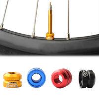 2 Pcs Nut Mountain Bike Bicycle For Presta Valve Ultralight Tube Nozzle Safety