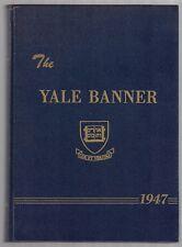 1947 Yale University Banner Orig Yearbook President George H W Bush Photos VTG