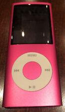 New listing Apple iPod Nano 4th Generation (Model A1285) - 8Gb - Pink