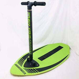 D6 SPORTS Stand Up SURF SKIMMER WOOD SKIMBOARD 41-INCH With Gripper Technology