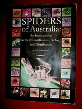 SPIDERS of Australia - Classification, Biology and Distribution -T.J. Hawkeswood
