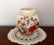 Sadler Pottery Vintage Ginger Jar Made In Staffordshire England 1940's-1950's