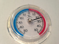 2 X Thermometer Stick On -50° to +50°    60mm Dial