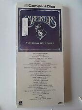 The Carpenters YESTERDAY ONCE MORE cd 1985 NEW LONGBOX (long box) Richard.Karen
