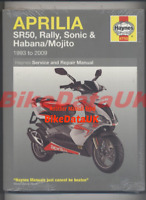 NEW Aprilia SR 50 Mojito Habana Sonic Rally SR50 (93-09) Haynes Manual Book AA02