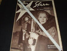 "Hildegard Knef … Marilyn Monroe on back cover … german magazine ""Stern"" … 1953"