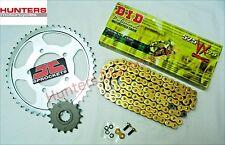 Honda CBR650F CBR650 2014 to 2018 DID Gold X-Ring Chain & JT Sprockets