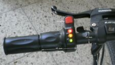 Gasgriff Halbdrehgriff e-bike Pedelec Akkuspannugsanzeige und Schalter, 36 Volt